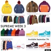 Supreme week3 第3週 発売リストリーク シュプリーム情報supreme