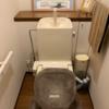 23年経過のトイレの修理