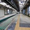 3/18 増築進むモノレール湘南江の島駅旧駅舎 内部写真撮り収め