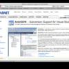 Visual StudioからSubversionの操作ができるアドオンAnkhSVN