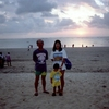 クタ・ビーチの夕陽