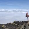 十勝岳に登って雲海を堪能しました