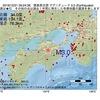 2016年12月21日 09時24分 徳島県北部でM3.0の地震
