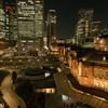 【夜景】東京駅丸の内駅舎の撮影はKITTE屋上庭園がおすすめ!【撮影テクニック】