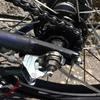 PAS CITY-Xの後輪タイヤを交換しました。(チューブは仏式に変更)