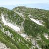 木曽駒ヶ岳。7月下旬。