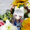 ドールとお花
