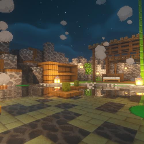 【マイクラ】割とオシャレな温泉を建築してみたので紹介します。【Youtubeで配信】
