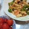 秋鮭とエリンギのオイスターマヨ炒め スーパーのレシピつくってみた