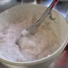 道明寺粉で作る桜もち