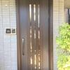 生活している中での不便さを解消することができた玄関ドア改修工事でした!