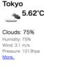 OpenWeatherMapのAPIで無料で気象情報を取得する その3:HTML出力