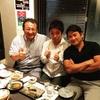 旧友と20年ぶりの再会を喜びました!!信州料理のお店、アネッソやまか にて。