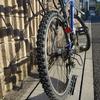 自転車のタイヤ交換