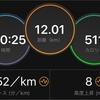 5分40秒で10キロ!