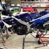 GSXR400 (タイヤ交換)