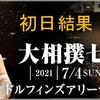 【四丁目企画】「大相撲七月場所」初日結果。横綱・大関は勝利。予想は猫姫さん、えみこさんが好スタート。