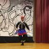 中国建国70周年にあーとびるで京劇ワークショップを行いました。