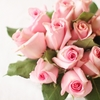 バレンタインに男性から花束をもらうとすごくうれしいよという話