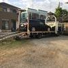 市川市から他人名義の車検切れ故障車をレッカー車で廃車の引き取りしました。