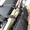 ツーリングセロー:サイドバッグ導入