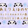 スタッフリカのおススメ商品♪vol. 37 【10/2(火)再入荷速報】