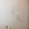 壁の落書きを落としたい