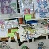 ここん所描いていた塗ってた色紙は、12日のイベントでほぼ売り切れました