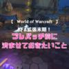 【World of Warcraft】拡張末期にできること4つ