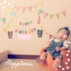 【育児0歳】6m12d:Happy Half BirthDay