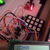 AVRマイコンで電卓もどきを作ってます(SC1602 LCDとキーマトリクスモジュール)