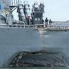米海軍の全艦隊運用停止が指示された