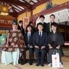 4月6日、金王八幡宮で入社式を執り行いました。