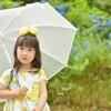 雨の日にも使えるレインロンパース