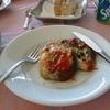 イタリアの街-ナポリ 料理