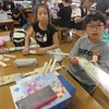 4年生:図工 材料を切って考える
