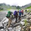 登山道の浮石は無くならない ならば歩くチカラを身につけよう!