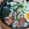 11月29日(日)昼食のうどんと、夕食のミルフィーユ鍋。