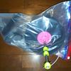 3Dプリンターのフィラメントの湿気対策その2 スプールホルダーに除湿バッグを取り付けた
