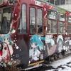 【雪ミク2013】市電『雪ミク電車』が今年も運行!内覧会でラッピング車両と車内アナウンスがお披露目!