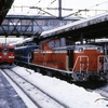上野幌駅で