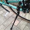 クロスバイク、ビアンキROMA3号にサイドスタンドを取り付けてみました◎