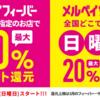 メルペイが使える寿司🍣ラーメン🍜うどん🍛レストラン🍝カフェ☕はどこ?【2020年3月】メルペイ飲食店フィーバーで最大50%還元!