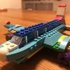 レゴブロックで飛行機を作りました、という話