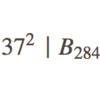 37でたくさん割れる関-ベルヌーイ数