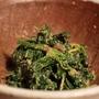 「ほうれん草の胡麻ポン酢和え」レシピ