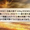 【RISE】10連勝・白鳥大珠が‐63㎏ RISEWS参戦決定でRISEライト級王座を返上!理由は?秀樹とのタイトル戦は消滅?大晦日にはRIZIN参戦は??今話題の白鳥大珠についてまとめてみた!
