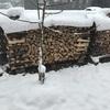 薪ストーブカンブリア紀⑨ 薪ストーブには雪景色が似合う