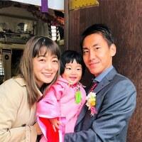 【スザンヌの妹マーガリンの子育て】娘の七五三!加藤神社へ行ってきました^_^