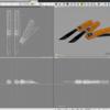 ナイフの製作 〜 Shade3D #004